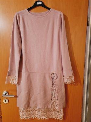 Sukienka dresowa stary róż