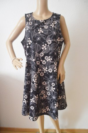 New Look Midi-jurk zwart-rosé