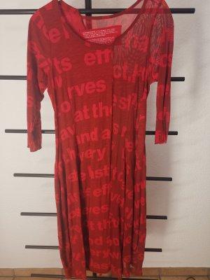 Nook... Longsleeve Dress red-dark red wool