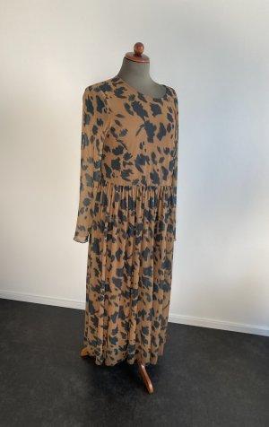 Nümph Longsleeve Dress black-brown