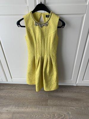 Oasis Robe de soirée jaune-jaune fluo