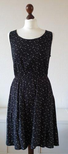 Kleid von Only * Gr.38 * schwarz * Sterne * A-Linie * Neu
