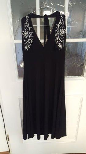 Orsay Sukienka bez ramiączek biały-czarny