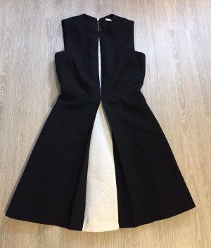 & other stories A-lijn jurk zwart-wit