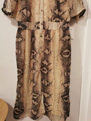 Kleid von pieces mit Animal Print
