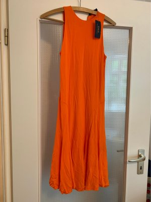 Polo Ralph Lauren Vestido de noche naranja