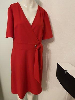 Kleid von Ralph Lauren Gr 40 L steht 10 Wickel Look
