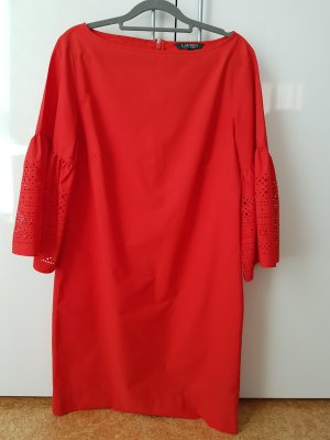 Lauren by Ralph Lauren Summer Dress red cotton