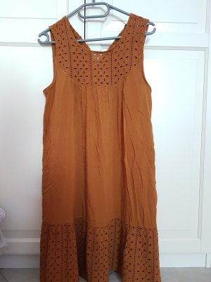 Reserved Sukienka boho brązowy-cognac