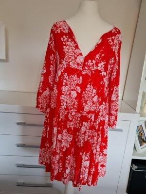 Rich & Royal A Line Dress white-red