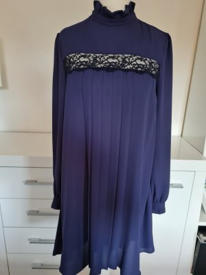 Rich & Royal A Line Dress blue