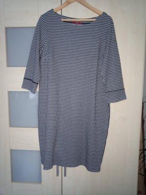 s.Oliver Vestido de lana azul-blanco Poliéster