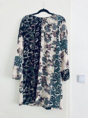 Sisley Vestido camisero multicolor