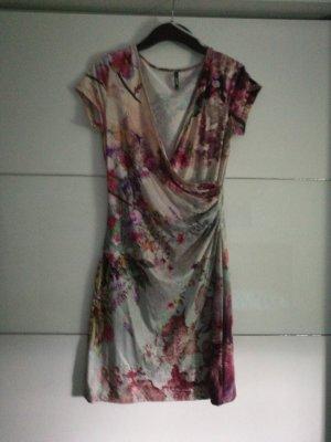 Smash Shortsleeve Dress grey lilac