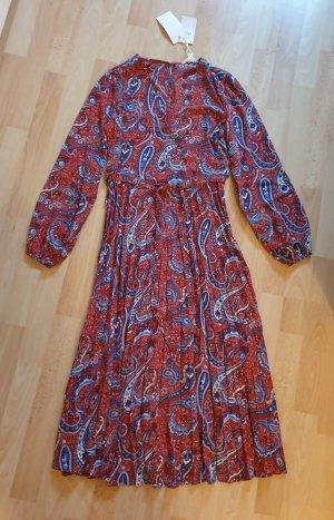 Kleid von Springfield rot gemustert Gr. XS - NEU