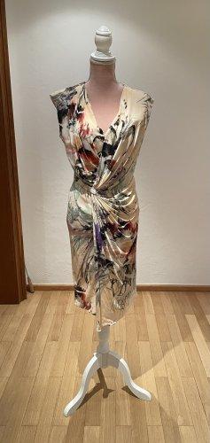 Kleid von Strenesse *38* mit Raffung und Blumenprint