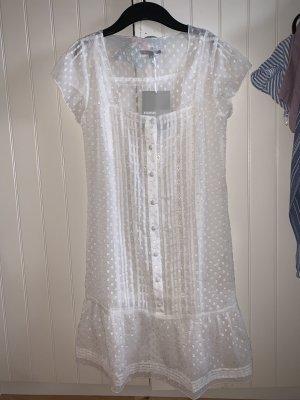 3 Suisses Shortsleeve Dress white polyester