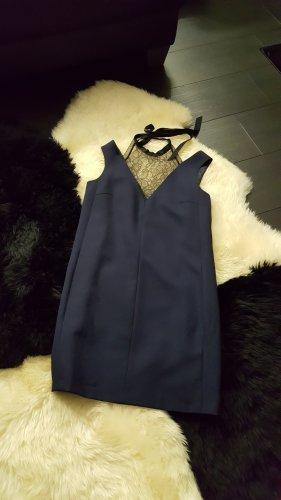 Tara jarmon Off-The-Shoulder Dress black-dark blue