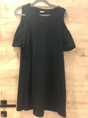Vera Moda Off-The-Shoulder Dress black