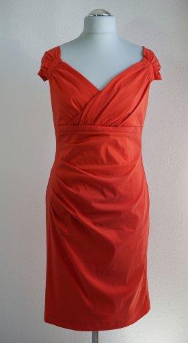Kleid von Vera Mont in Koralle Orange