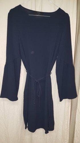 Vero Moda Chiffon jurk donkerblauw