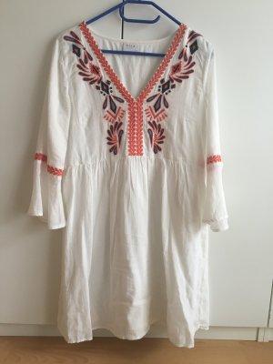 Vila Sukienka tunika biały