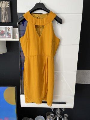 V Label London Robe découpée orange foncé