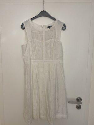 Kleid von Warehouse Gr.40 weiß
