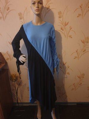 Zara Longsleeve Dress black-blue
