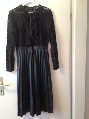 Zara Woman Lace Dress black mixture fibre