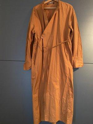 Zara Longsleeve Dress dark orange-orange