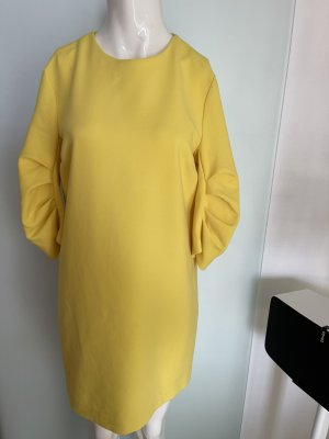 Kleid von Zara Gr 36 38 M Gelb