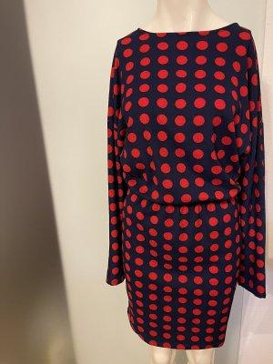 Kleid von Zara Gr 36 38 M gepunktet
