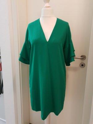 Kleid von Zara grün Gr.M NEU