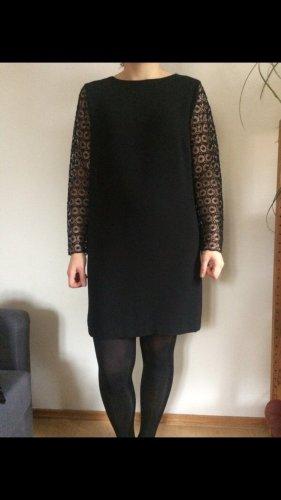 Kleid von Zara LBD in schwarz Groesse XL/L