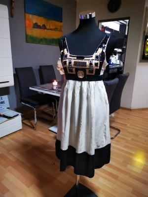 Zara Sweat Dress black-natural white