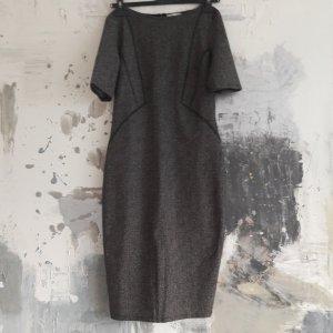 Zara Robe crayon noir-gris anthracite