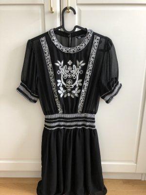Kleid von Zara schwarz Gr. XS