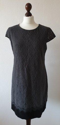 Kleid von Zero * Gr.40 * Spitze * schwarz - grau