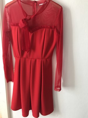 Wal G Robe de cocktail rouge