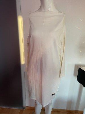 fashion Vestido elástico crema