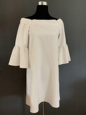 Asos Mini-jurk wit Gemengd weefsel