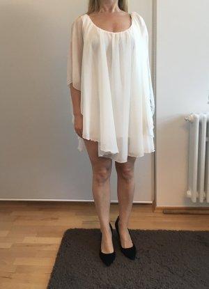 Reverse Robe courte blanc acrylique