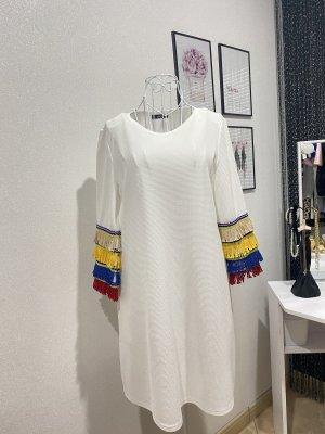 Kleid weiss Gr L
