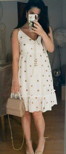 Asos Robe d'été blanc-doré