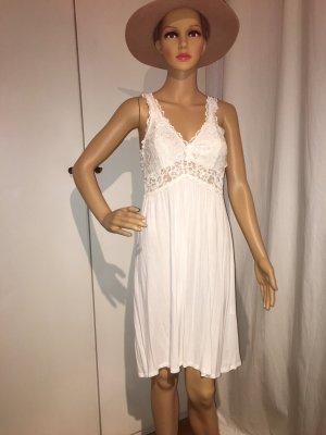Kleid, weiß, sexy, M/L