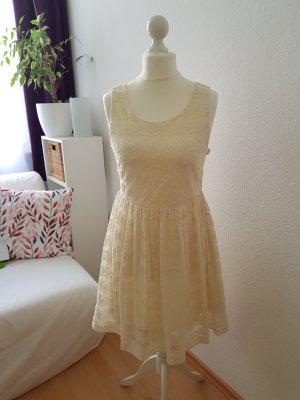 H&M Kanten jurk veelkleurig