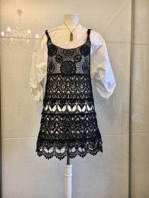 Blouse Dress white-black
