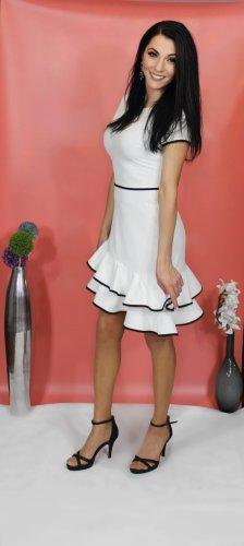 Kleid weiß von italienische Designer-Marke Rinascimento
