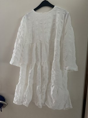 Kleid weiß von Shein, Zara Dupe Sommer Sommerkleid Blogger Bloggerstyle